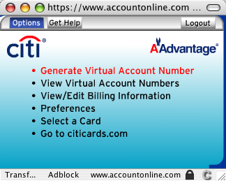 Citicards Account Online >> Mokka mit Schlag » Virtual Account Numbers