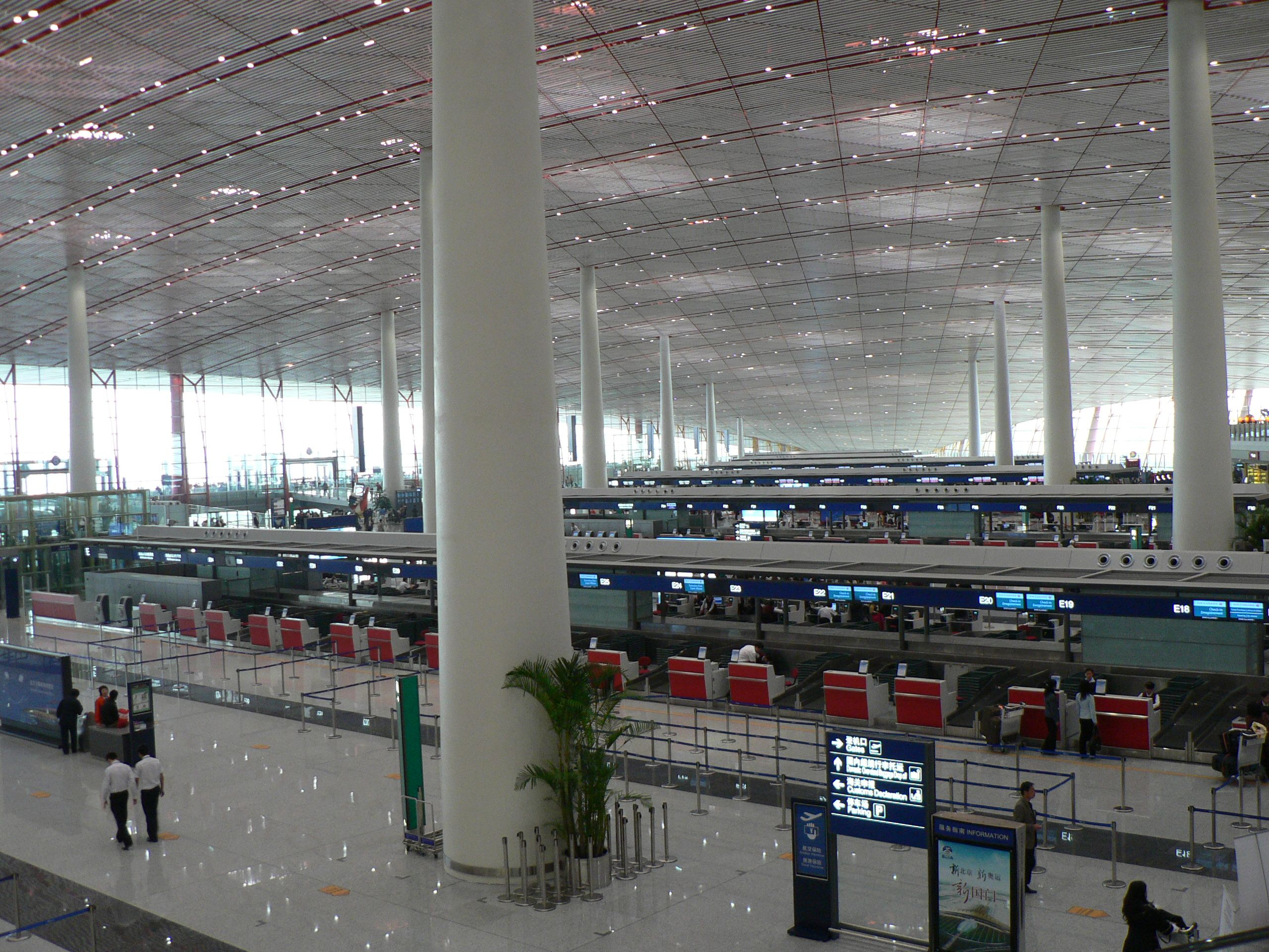 Terminal 3 in Beijing Airport