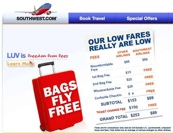 Our low fares really are low